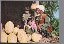 REF 461 : CPSM Afghanistan Kunduz Old Melon Vendor Vieux Vendeur De Melon - Afghanistan