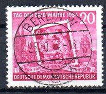 "(DDR-BM1) DDR ""Tag Der Briefmarke"" Mi 445A Sauber Bedarfsgestempelt - [6] Democratic Republic"