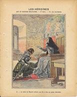 Protège Cahier Fin XIXe: Collection L. Geisler - Les Héroïnes: Art Et Histoires Militaires, 2e Série: Les Auxiliaires - Book Covers