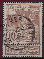 Nr. 73 Met  Afstempeling HEYST - SUR - MER ; Staat Zie Scan ! Inzet Aan 3 € ! - 1894-1896 Tentoonstellingen