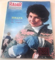 Radar N°473 Mars 1958 Soraya Elvis Presley  Révolte Indonésie Bonjour Tristesse Jean Seberg Clown Fratellini Yul Brinner - Informations Générales