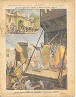 Protège Cahier Fin XIXe: Collection Godchaux - Les Sièges Célèbres à Travers Les âges - Illustration Dascher - Protège-cahiers