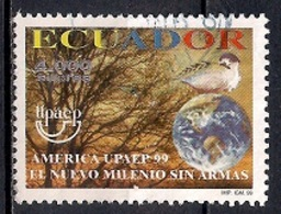Ecuador 1999 - America UPAEP - Millennium Without Arms - Ecuador