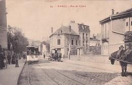 NANCY                   RUE DE VILLERS      TRAMWAY EN PP - Nancy