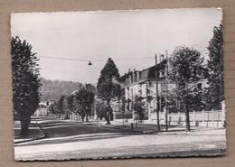 CPSM 88 - REMIREMONT - Avenue Jules Méline - TB PLAN Route CENTRE VILLE + Détails Bâtiments Maisons à Droite - Remiremont