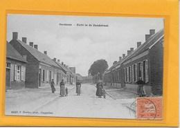 OORDEREN: HOELEN-ZICHT IN DE ZANDSTRAAT--MET VOLK - Belgique