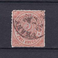 Norddeutscher Postbezirk - 1868 - Michel Nr. 8 - Gest. - 70 Euro - Conf. De L' All. Du Nord