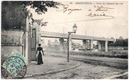 95 ARGENTEUIL - Pont Du Chemin De Fer - Argenteuil