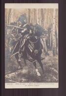 SALON DE 1907 OFFICIER DE CHASSEURS A CHEVAL PAR A. LALAUZE - Pittura & Quadri