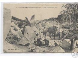Saulx Les Chartreux  Les Carrieres à Grès TTB RARISSIME - France