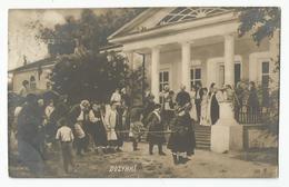 Cpa Pologne Poland Dozynki  Cachet Kytho 1909 - Polonia