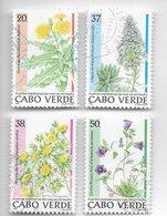 TIMBRES - STAMPS - SELLOS - CAP VERT / CAPE VERDE - 1996 -  PLANTES ENDÉMIQUES - SÉRIE TIMBRES OBLITÉRÉE - Plants