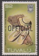 Tuvalu SG O 33  1983 OFFICIAL, $ 2 Fisherman's Hatt, Overprinted Official, Used - Tuvalu
