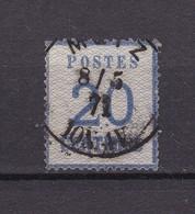 Elsass Und Lothringen - 1870 - Michel Nr. 6 - Gest. - Norddeutscher Postbezirk