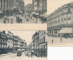 Lille Lot De 3 Cartes LL Rue Esquermoise Et Café Jean TBE - Lille
