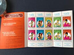 Carnet Complet Timbres Le Souffle C'est La Vie 1979 1980 - Erinnophilie