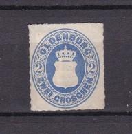 Oldenburg - 1862/67 - Michel Nr. 18 - Ungebr. - Oldenbourg