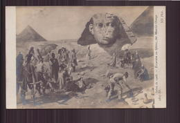 SALON DE 1908 EXCURSION AU SPHINX PAR MAURICE ORANGE - Pittura & Quadri