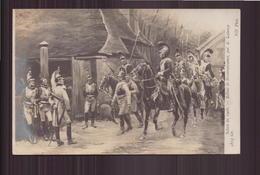 SALON DE 1908 RETOUR DE RECONNAISSANCE PAR LALAUZE - Pittura & Quadri