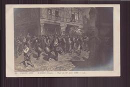 SALON DE 1908 NUIT DU 10 AOUT 1792 PAR MASSIN - Pintura & Cuadros
