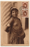 CPA - EGYPTE - Fillette Arabe - Timbrée Coté Vue - Port Saïd - 1927 - Personas