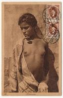 CPA - EGYPTE - Bédouine - Timbrée Coté Vue - Port Saïd - 1927 - Personnes