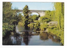 24 Saint St Pardoux La Rivière Vers Nontron N°706 Vue Du Pont Sur Le Viaduc Et La Dronne En 1973 édit René Marsac - Nontron