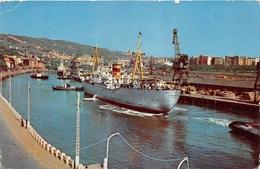 """¤¤  -   Le Bateau De Commerce """" CASABLACA """" Dans Le Port De BILBAO  -  Cargo     -  ¤¤ - Handel"""