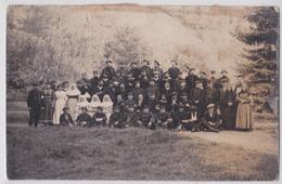 UGINE (Savoie) - Carte-photo Militaire 28 Décembre 1914 INfirmerie Grande Guerre Mutilés - Ugine