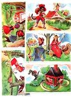 Editions Educatives. Lot De 10 Images, Contes Divers - Chromos