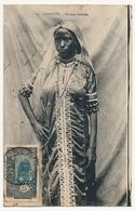 CPA - DJIBOUTI - Femme Somali - Timbrée Coté Vue, Formant CARTE MAXIMUM - Djibouti