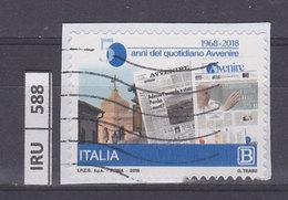 ITALIA REPUBBLICA    2018Quotidiano L'Avvenire Usato - 6. 1946-.. República