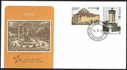 1978 - HELLAS - FDC - Michel 1314/1315 - Y&T 1286/1287 [Europa] - FDC
