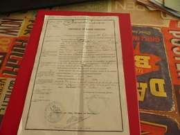 VP-6 , Certificat De Bonne Conduite, 100e Régiment D'infanterie, Place De Narbonne, 1872 - Documentos Históricos