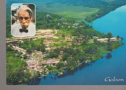C. P. - PHOTO - GABON - LAMBARENE - VUE AERIENNE DE L'HOPITAL A. SCHWEITZER - C'EST EN 1913 QUE LE DOCTEUR SCHWEITZER IN - Gabón