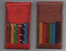 2 Petites Pochettes De Crayon De Coloriage Pour Enfants/AIR FRANCE/Cadeaupublicitaire / Vers 1950    JE241 - Group Games, Parlour Games
