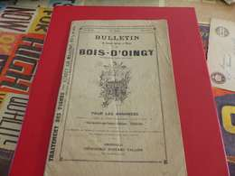VP-13 , Bulletin Du Syndicat Agricole Du Bois D'Oingt , Villefranche Sur Saône - Publicidad
