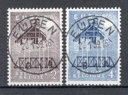 BELGIE: COB 1025/1026 Zeer Mooi Gestempeld. - Gebraucht