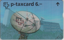 SUISSE - PHONE CARD - TAXCARD-PRIVÉE * V  *** PARABOLE - TELECOM BASEL  *** - Schweiz