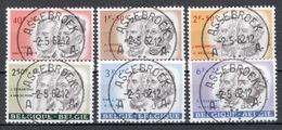 BELGIE: COB 1176/1181 Zeer Mooi Gestempeld. - Gebraucht