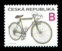 Czech Republic 2020 Mih. 1057 Favorit Bicycle MNH ** - Ungebraucht