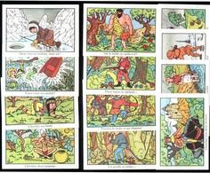 Editions éducatives. Images Didactiques, Bons-points Récompenses Scolaires. 12 Images. Cherchez Ce Qui Se Cache... - Chromos