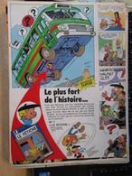 SPI2020  Issu De Revue Spirou Années 80 / PAGE DE PUBLICITE : SORTIE ALBUM BENOIT BRISEFER PEYO - Benoît Brisefer