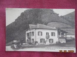CPA - Bidarray - Pension De Famille Erramoundèguia - Bidarray
