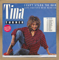 "7"" Single, Tina Turner - I Can't Stand The Rain - Disco, Pop"
