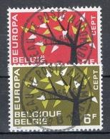 BELGIE: COB 1222/1223 Mooi Gestempeld. - Gebraucht