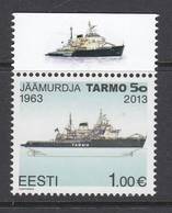 Estland 2013. Icebreaker Tarmo. 1 W. MNH. - Estonie