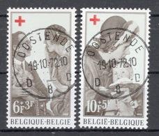 BELGIE: COB 1454/1455 Mooi Gestempeld. - Gebraucht