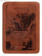 "46 - ROCAMADOUR . "" LA PORTE DU FIGUIER "" . CARTE EN CUIR - Réf. N°24227 - - Rocamadour"