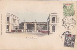 TONKIN VIETNAM INDOCHINE   :  SAIGON :  Entrée Des Casernes Oblitération De Haiphong De 1904 - Viêt-Nam